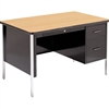 "Virco 543 - 540 Series Teacher's Desk, Single Pedestal, 30"" x 48"" Top  (Virco 543)"
