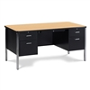 "Virco 546 - 540 Series Teacher's Desk, Double Pedestal, 30"" x 60"" Top  (Virco 546)"