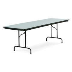 "Virco 601896 - 6000 series 3/4"" thick particle board folding table 18"" x 96""  (Virco 601896)"