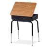 "Virco 751MBB - Student Desk with Lift Lid and Metal Book Box, 18"" x 24"" Top  (Virco 751MBB)"