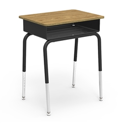 "Virco 785MBB - Student Desk with Open Front Metal Book Box, 18"" x 24"" Top  (Virco 785MBB)"