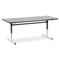 "Virco 873072 - 8700 Series Computer Table, 30"" x 72"" Top  (Virco 873072)"