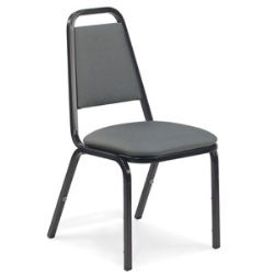 Virco 8926 - Upholstered Stack Chair, Trapezoidal Back, Padded Dome Seat  (Virco 8926)