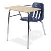"Virco 9400NBRM - Combo Desk with 18"" Seat, 18"" x 24"" Hard Plastic Top, No Bookrack (Virco 9400NBRM)"