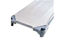 Angeles New Angeles Toddler Rest Cot Sheet - White  (Angeles AGL-AFB5700TW)