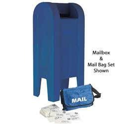 Angeles Mail Box Set, Incl Bags, Letters And Mailbox  (Angeles AGL-AFB6150)