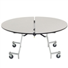 "AmTab Round Mobile Cafeteria Table - 48"" Diameter (AmTab AMT-MRD48)"