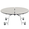 "AmTab Round Mobile Cafeteria Table - 60"" Diameter (AmTab AMT-MRD60)"