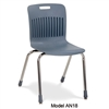 "Virco AN18 - Analogy Series 4-Legged School Chair, 18"" Seat Height (Virco AN18)"