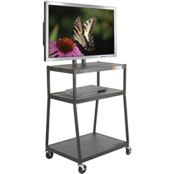 Balt WIDE BODY FLAT PANEL TV CART Black with out cabinet  (Balt BES-27553)