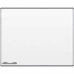 Best-Rite Presidential Frame - Porcelain  Markerboard - 4'H x 5'W  (Best-Rite BES-2H2PF)