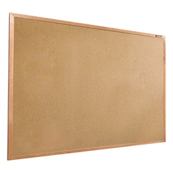 Best-Rite Valu-Tak Tackboard - Wood Trim - 4'H x 5'W  (Best-Rite BES-301WF)