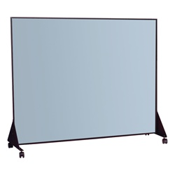 Best-Rite Black anodized - Markerboard one side - vinyl one side 5' L x 4' H  (Best-Rite BES-648F)