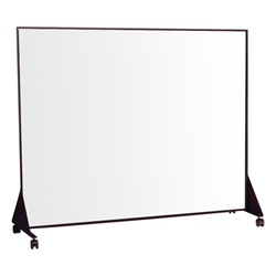 Best-Rite Black anodized - Markerboard both sides - 5' L x 4' H  (Best-Rite BES-650F)