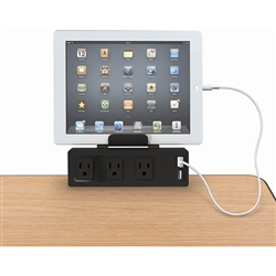 Best-Rite Clamp Mount Outlet & USB Charge (Best-Rite BES-66675)