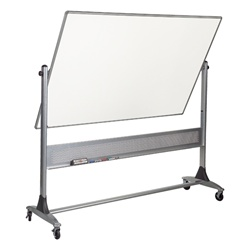 Best-Rite Projection Plus Markerboard/Porcelain Markerboard - 4' H x 6' W  (Best-Rite BES-669RG-FD)