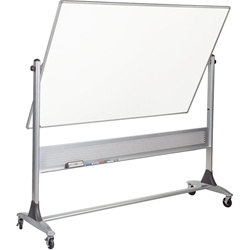 Best-Rite Projection Plus Markerboard - both sides - 4' H x 6' W  (Best-Rite BES-669RG-FF)