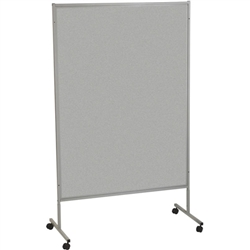 Best-Rite Gray Vinyl Floor Display Panels - Single (Best-Rite BES-689D-44)