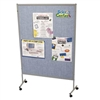 Best-Rite Pacific Blue Vinyl Floor Display Panels - Single (Best-Rite BES-689D-47)