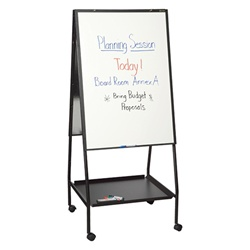 Best-Rite Wheasel Presentation Easel w/ Porcelain-on-Steel Markerboard  (Best-Rite BES-770)