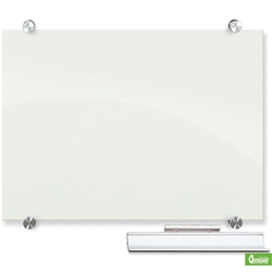 Balt Visionary Magnetic Glass Dry Erase Board - 32'H x 3'W (Balt BES-83843)