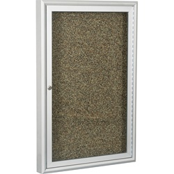 "Best-Rite Coffee Aluminum Trim - 1 Door - 18""W x 24""H  (Best-Rite BES-94PCA-O)"