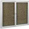 "Best-Rite Coffee Aluminum Trim - 2 Door - 48""W x 36""H  (Best-Rite BES-94PCC-O)"