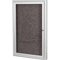 "Best-Rite Silver Aluminum Trim - 1 Door - 36""W x 36""H  (Best-Rite BES-94PS1-I)"