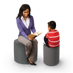 Best-Rite Economy Pouf Stool / Ottoman - Large (Best-Rite BES-960-001)