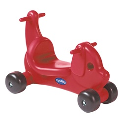 CarePlay  Puppy Ride-On Walker - Red  (Careplay CPL-2002P)