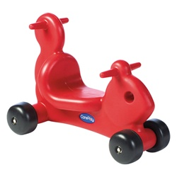 CarePlay Squirrel Ride-On Walker - Red  (Careplay CPL-2002S)