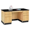 Diversified Woodcrafts Teacher's Work Desk <br> (Diversified Woodcrafts DIV-1131K)