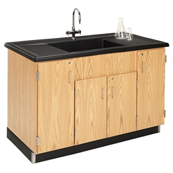 Diversified Woodcrafts Clean-Up Sink w/ Polyolefin Top (Diversified Woodcrafts DIV-3303K)