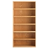 "Diversified Woodcrafts Oak Storage Bookcase - 72"" Height (Diversified Woodcrafts DIV-447-3616)"