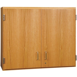 "Diversified Woodcrafts Oak Double Door Wall Storage Cabinet - 36""W x 30""H (Diversified Woodcrafts DIV-D03-3612)"