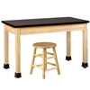 "Diversified Woodcrafts Science Table w/ ChemGuard Top - 72""W x 30""D (Diversified Woodcrafts DIV-P7152M30N)"