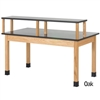 "Diversified Woodcrafts Riser Table w/ Plastic Laminate Top - 60""W x 30""D (Diversified Woodcrafts DIV-PR7141K30N)"