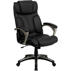 Flash Furniture High Back Folding Black Leather Executive Office Chair<br>(FLA-BT-9875H-GG)