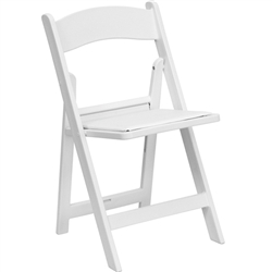 Flash Furniture HERCULES Series 1000 lb. Capacity Folding Chair with Padded Seat<br>(FLA-LE-L-1-GG)