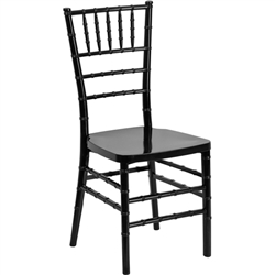 Flash Furniture Elegance Resin Stacking Chiavari Chair<br>(FLA-LE-RESIN-GG)