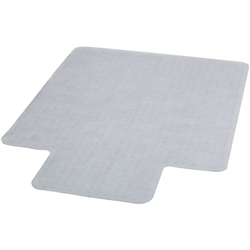 Flash Furniture 45'' x 53'' Carpet Chairmat with Lip<br>(FLA-MAT-CM11233FD-GG)