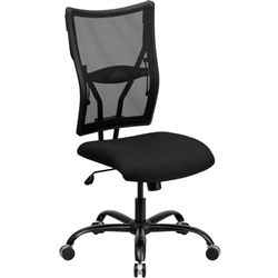 Flash Furniture HERCULES Series Big & Tall Black Mesh Office Chair<br>(FLA-WL-5029SYG-GG)