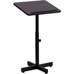 Flash Furniture Adjustable Height Metal Lectern<br>(FLA-XU-LECTERN-ADJ-GG)