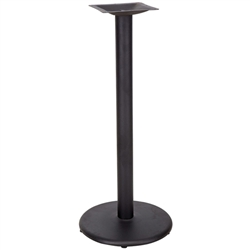 Flash Furniture 18'' Round Restaurant Table Base with 3'' Dia. Bar Height Column<br>(FLA-XU-TR18-BAR-GG)