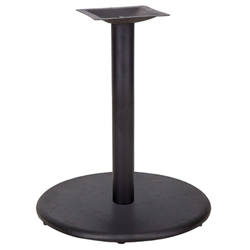 Flash Furniture 24'' Round Restaurant Table Base with 4'' Dia. Table Height Column<br>(FLA-XU-TR24-GG)