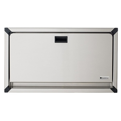 Foundations Recessed Stainless Clad Changing Station (Foundations FOU-100SSC-R)