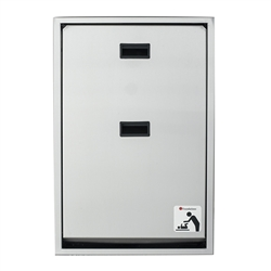 Foundations Recessed Full Stainless Steel Changing Station - Vertical Mount (Foundations FOU-100SSV-R)