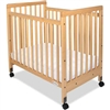 Foundations SafetyCraft Crib - Fixed Sides - Slatted End Panels<br> (Foundations FOU-1631040)
