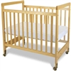Foundations SafetyCraft Crib - Fixed Sides - Clearview End Panels<br> (Foundations FOU-1632040)