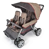 Foundations LX4 4-Passenger - Dual Canopy Folding Stroller (Foundations FOU-4140037)